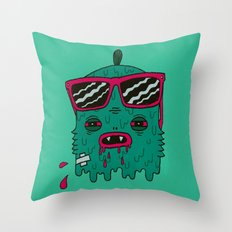 Dracula is my ex-BFF Throw Pillow