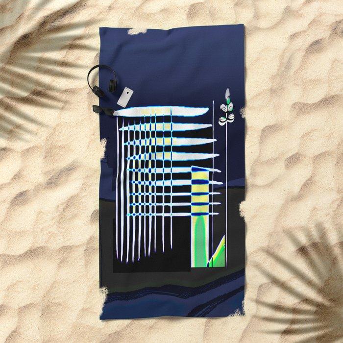 Mi Casa / House 28-09-16 Beach Towel