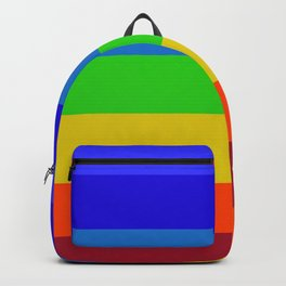 Chakra colour block Backpack
