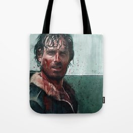 Don't Mess WIth Rick Grimes - The Walking Dead Tote Bag