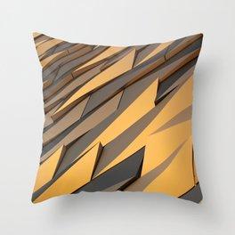 Titanics surface Throw Pillow