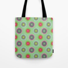 transparent floral pattern 4 Tote Bag