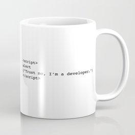 Trust me, I'm a developer Coffee Mug