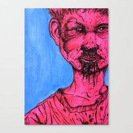 Blood boy Canvas Print