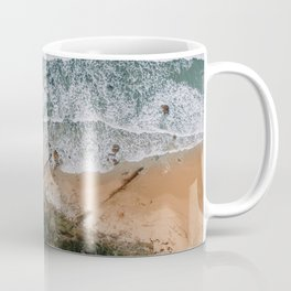 Beach textures as seen from above Coffee Mug