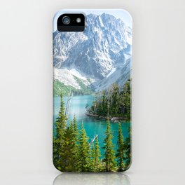 Lake Colchuck iPhone Case