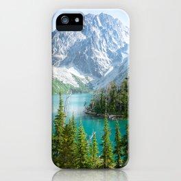 Lake Colchuck iPhone Case