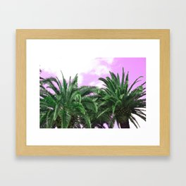 Acid Rain Framed Art Print