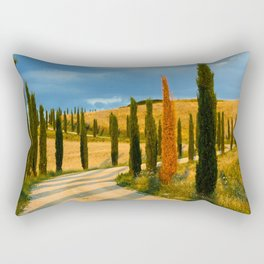 avenue of cypresses 2 Rectangular Pillow