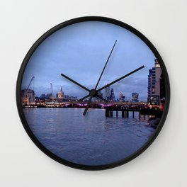 Thames View near OXO Tower Wall Clock