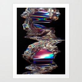 Zone X Art Print
