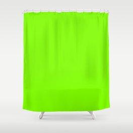 UFO Green Shower Curtain