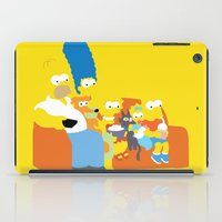 simpsons iPad Cases featuring The Simpsons - Family by TracingHorses