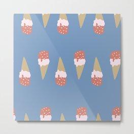 I Scream for Ice Cream Metal Print