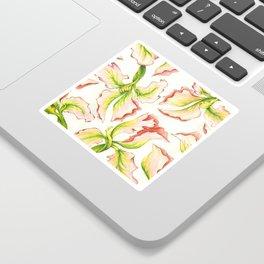 Pink Iris Sticker