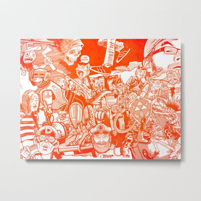 explosion! Metal Print