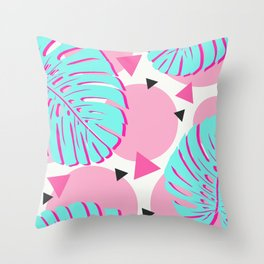 Baby Tropical Fantasy Throw Pillow