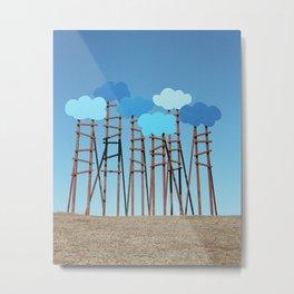 Clouds, Art Omi Metal Print