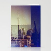 toronto Stationery Cards featuring Toronto by Jordan Osbourne