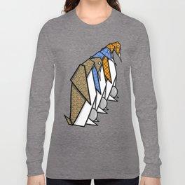 Origami Penguins Long Sleeve T-shirt