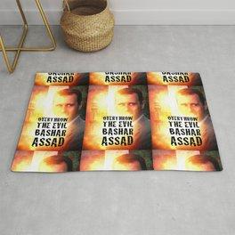 Bashar Assad Is Evil Rug