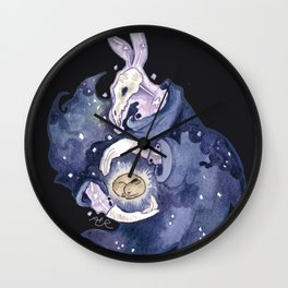 the end and beginning Wall Clock