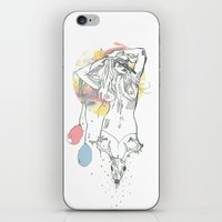 birthday iPhone & iPod Skins featuring birthday by Cassidy Rae Marietta