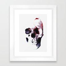 SKULL 3 Framed Art Print