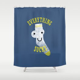 Everythings Socks Shower Curtain