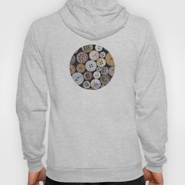 Wooden Buttons Hoody