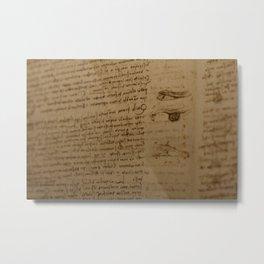 Da Vinci I Metal Print