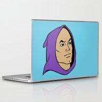 he man Laptop & iPad Skins featuring He Man Hoodie by Locust Years