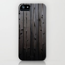 Silvered Slats iPhone Case