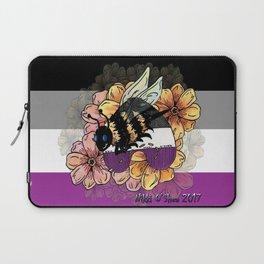 Asexual BumbleBee Laptop Sleeve