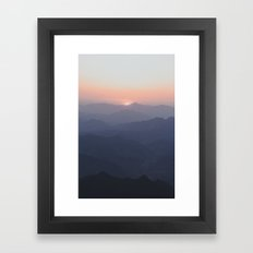 The Great Wall of China III Framed Art Print