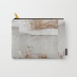 Typha reeds winter season Carry-All Pouch