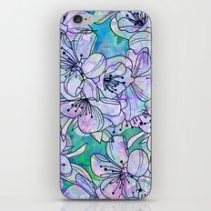 Over and Over Flowers iPhone & iPod Skin