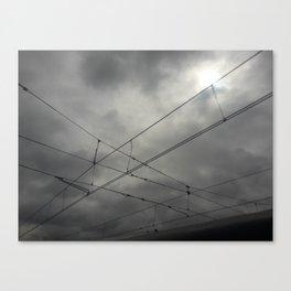 Cruces en el cielo Canvas Print