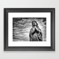 Power of Prayer Framed Art Print