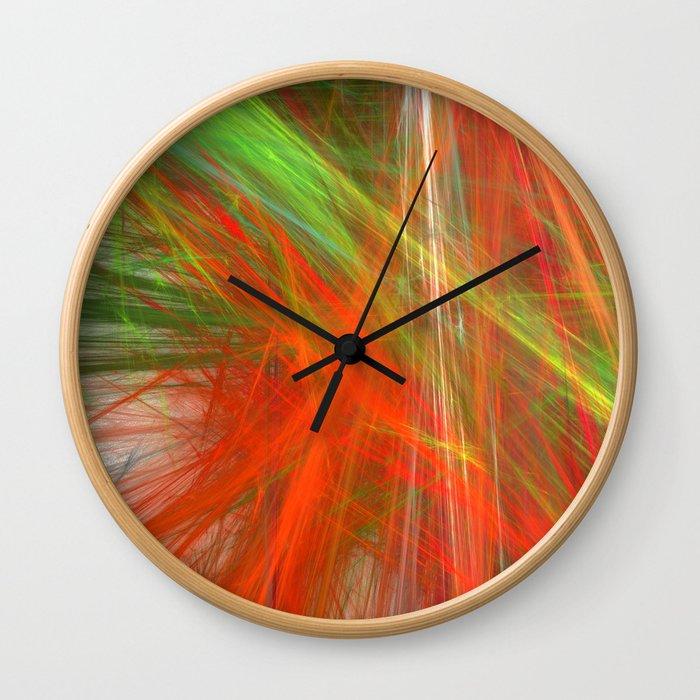 Disco Lights (A7 B0217) Wall Clock