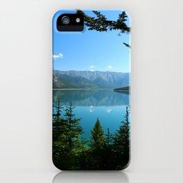 Beautiful Lake Minnewanka iPhone Case