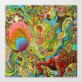 The Birden Canvas Print