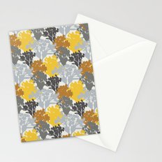 Acer Bouquets - Golds & Silvers Stationery Cards