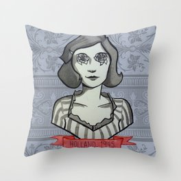 Holland, 1945 Throw Pillow