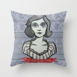Holland, 1945 Throw Pillow