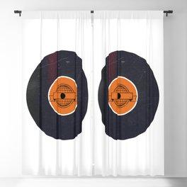 Vinyl Record Art & Design | World Post Blackout Curtain