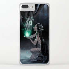 The Forest Doctor Clear iPhone Case