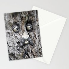 Tree Face Stationery Cards