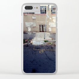 #63Photo #BirdsEyeView #StreetTextures #Jozi Clear iPhone Case