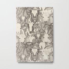 just ox natural Metal Print